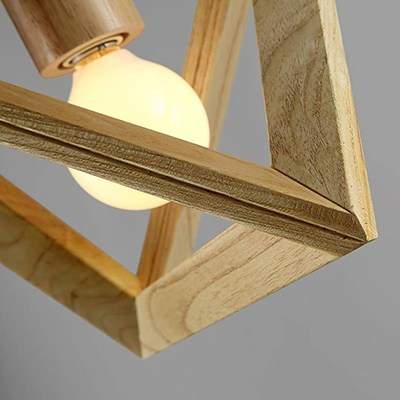SOO Magic Menu wood lamp
